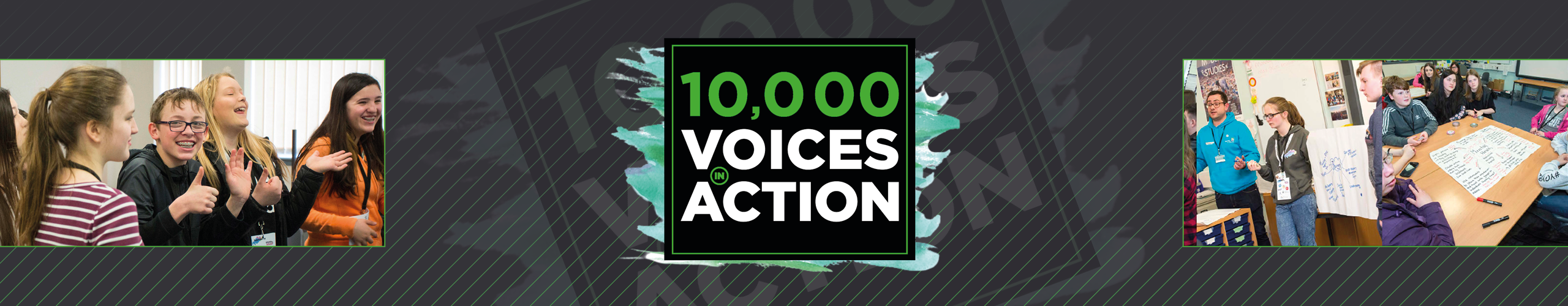 Ten Thousand Voices banner background image
